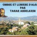 Le peintre tahar abdelkrim