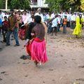 Saltimbanque à Murudeshwar
