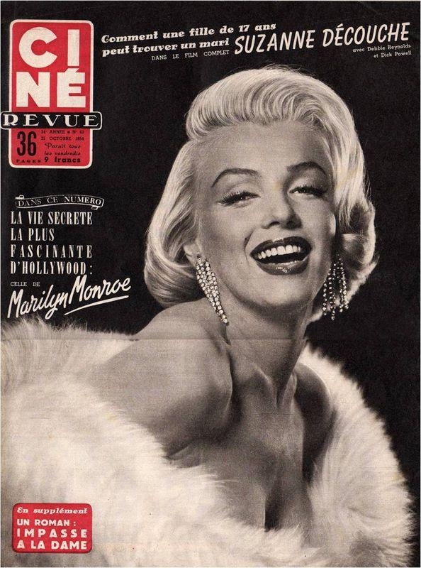 Ciné revue 1954