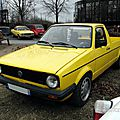 Volkswagen golf caddy - 1982 à 1992