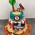 Gâteau Pirates
