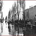 Challenge upro-g : les inondations de 1910 …