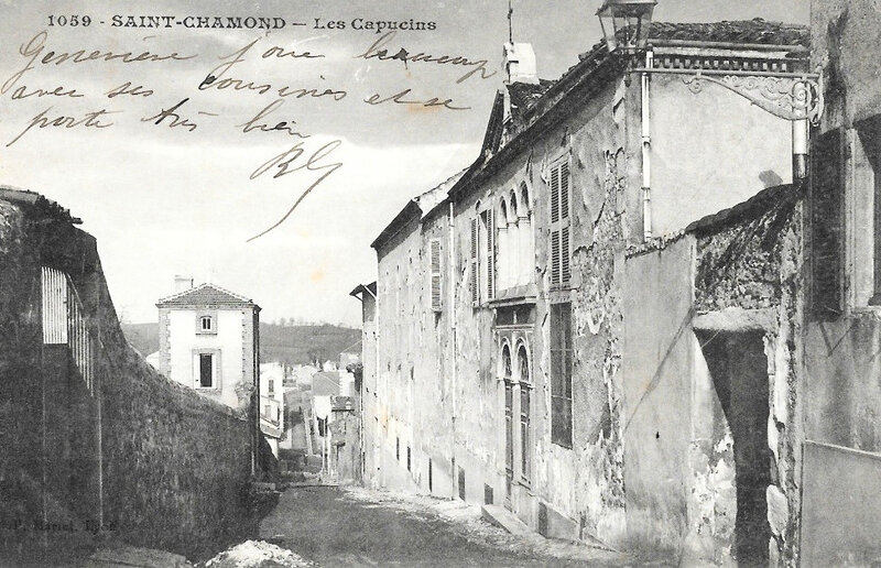 Saint-Chamond_(Loire),_Couvent_des_Capucins,_1601,_aujourd'hui_disparu