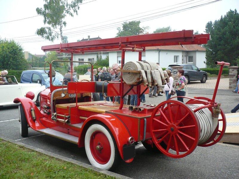 DE DION BOUTON type IS camion de pompiers départ incendie 1923 Hambach (2)