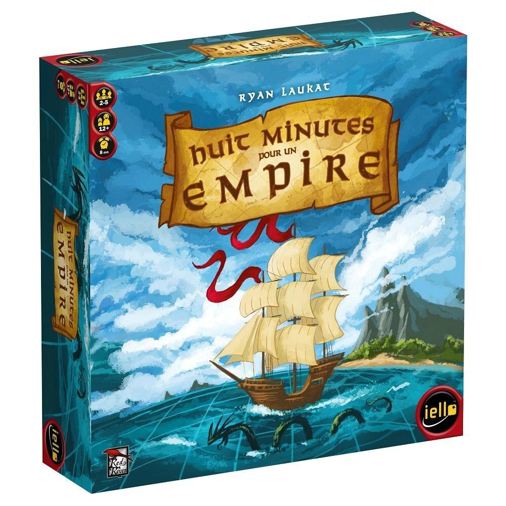 Boutique jeux de société - Pontivy - morbihan - ludis factory - 8 minutes pour un empire