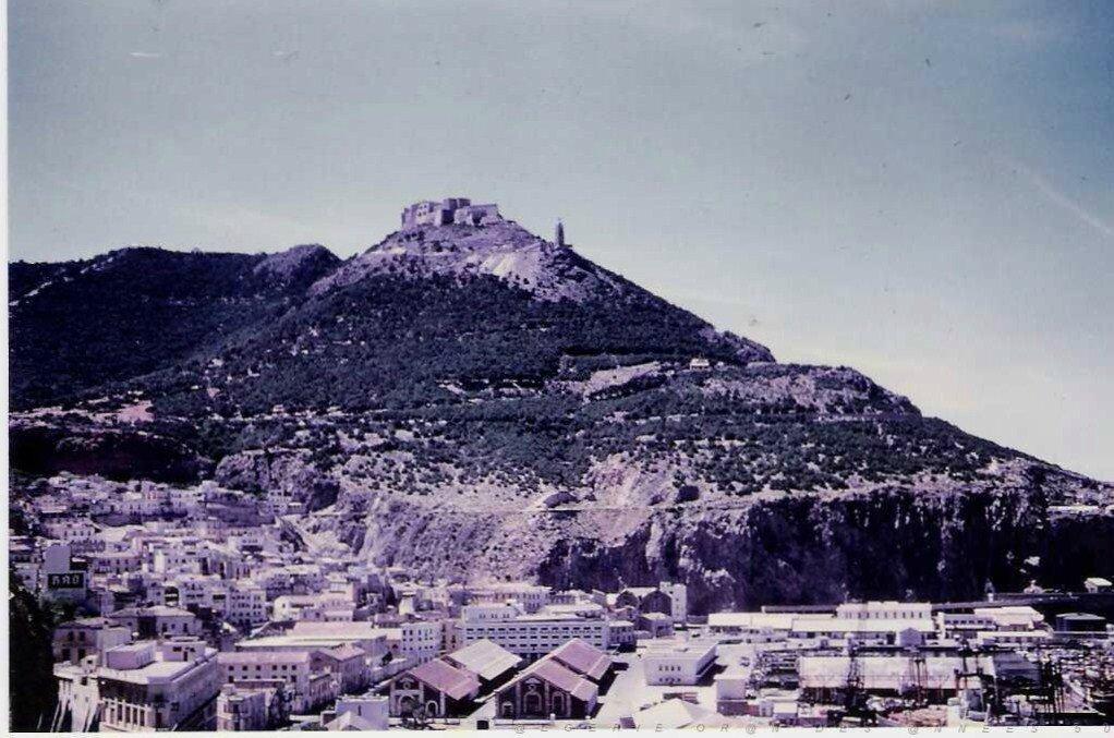 ORAN 1950 Santa Cruz - Photo de Oran d'hier et d'aujourd'hui ... -  Christian Potin Consultant intermittent du Développement Inégal
