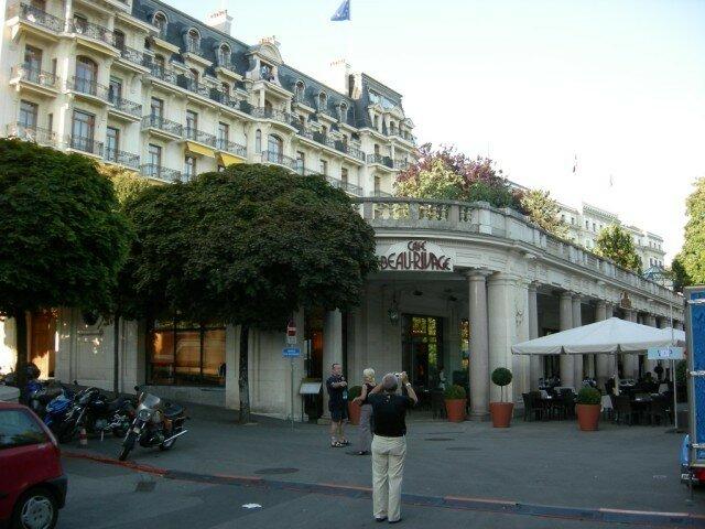 l'hôtel de ....l' ITU !!