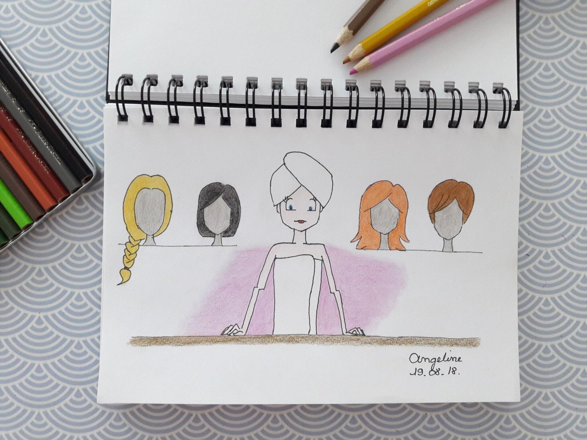 Les cheveux des playmobiles