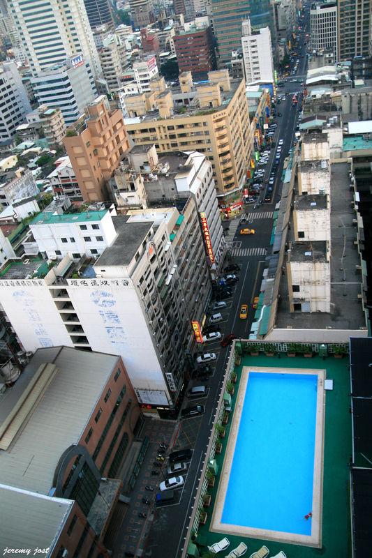 Piscine de l'hotel Kaoshuing