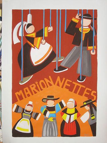 série Breizh: marionnettes