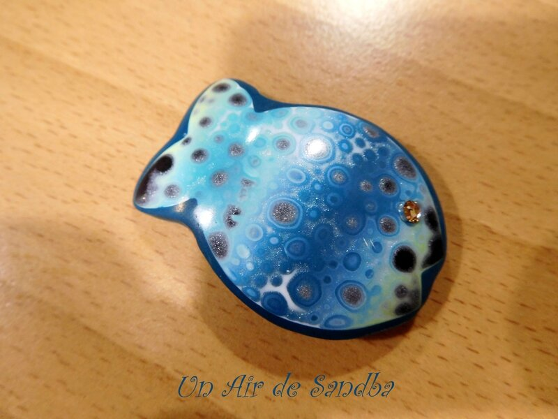 Broche Happy Fish ça bulle (3)