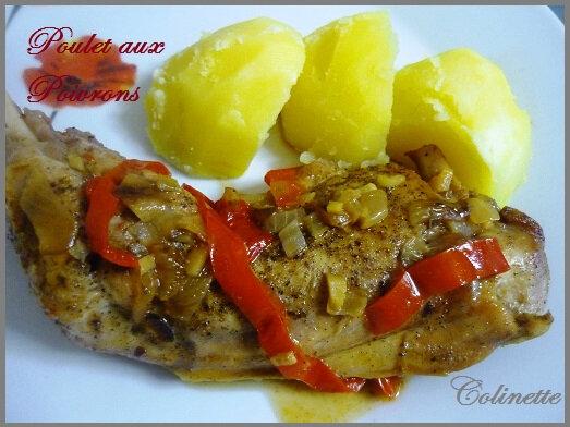 poulet aux poivrons 01