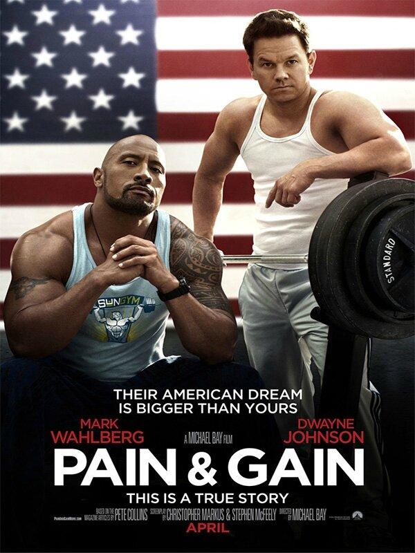 Affiche Pain & Gain