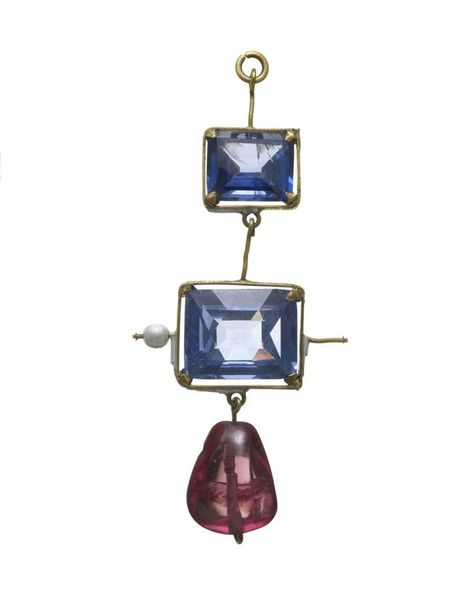 Sapphire-and-Spinel-Pendant