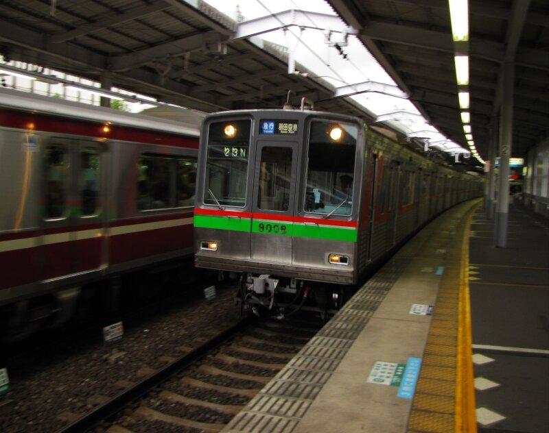 Hokusô 9000 (9008), Shinagawa eki