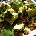 A chacun son régime, une salade d'hiver par exemple