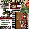 Carnets de scrap n°20 + kit mini album