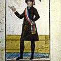 Le 18 novembre 1790 à mamers : installation du nouveau maire, le sieur le prous desageux.