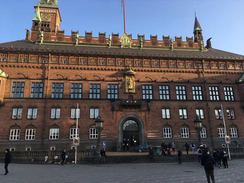 Copenhagen's city hall