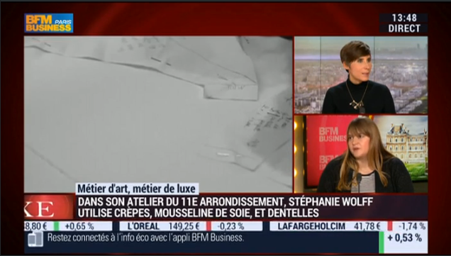 STEPHANIE WOLFF PARIS - BFMTV - 11 JANVIER 2016 - SUITE 2