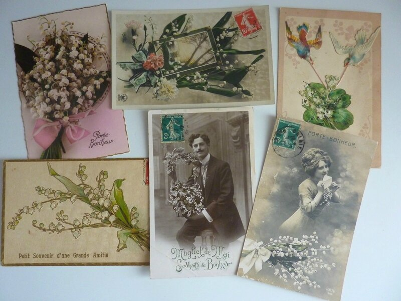 Cartes collection 1er mai