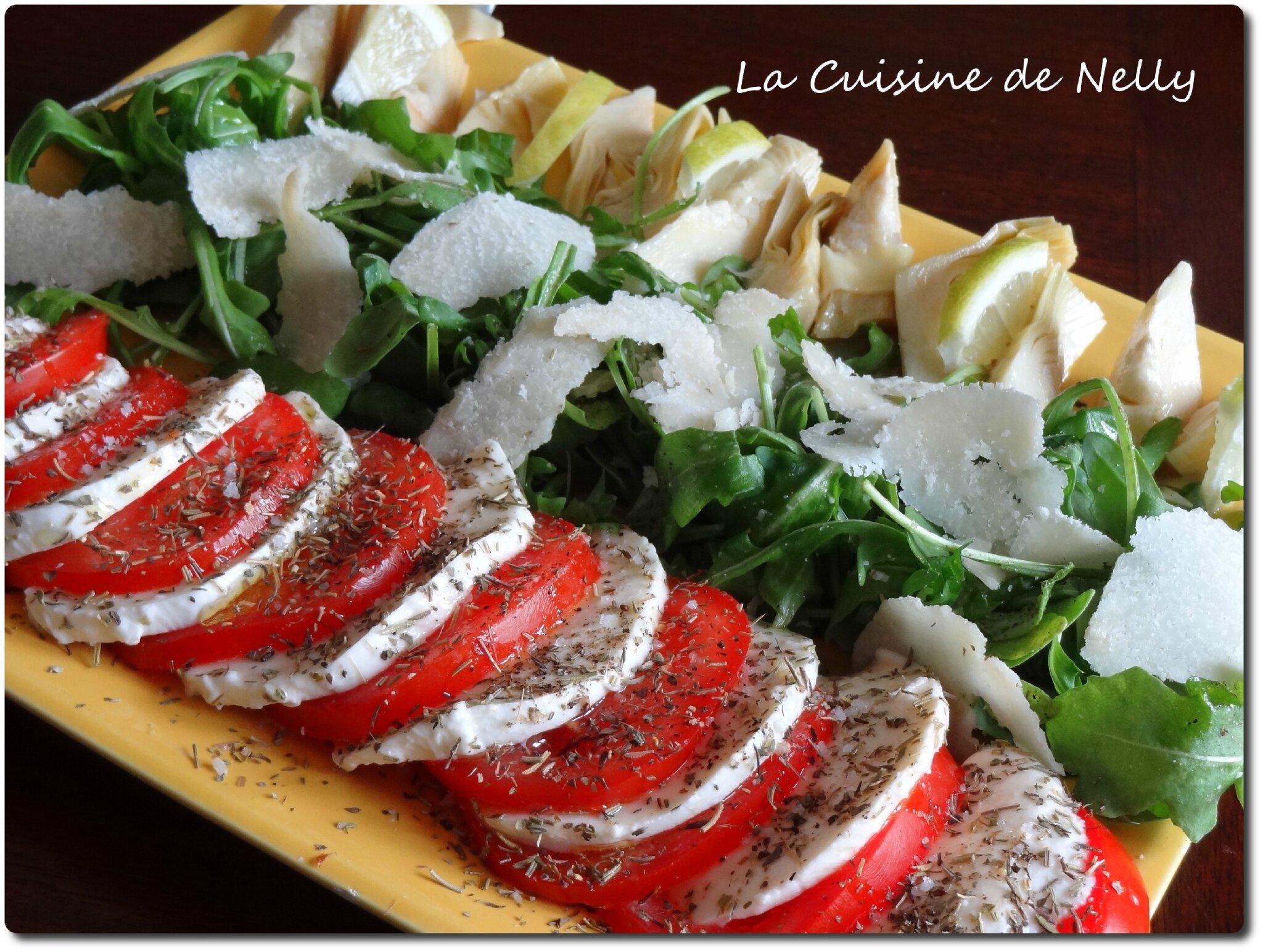 Salade italienne la cuisine de nelly - Blog de cuisine italienne ...