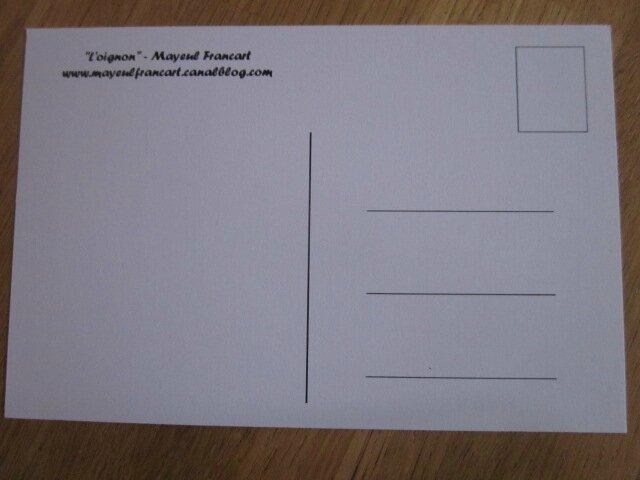 Carte postale - L'oignon (1)