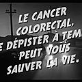 campagne tv depistage du cancer colorectal controle de routine