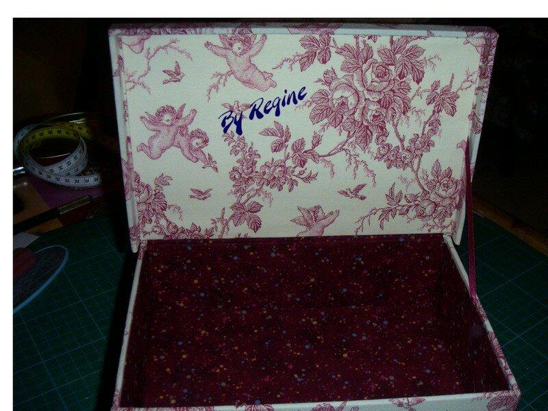 la boîte de Régine déc 2006