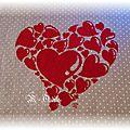 Des cœurs