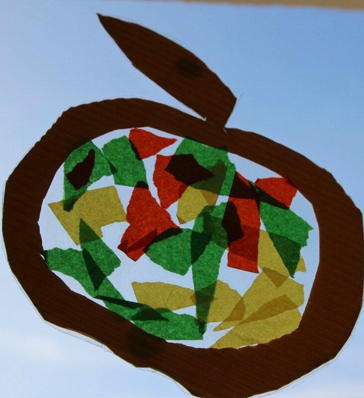 Vitraux pomme