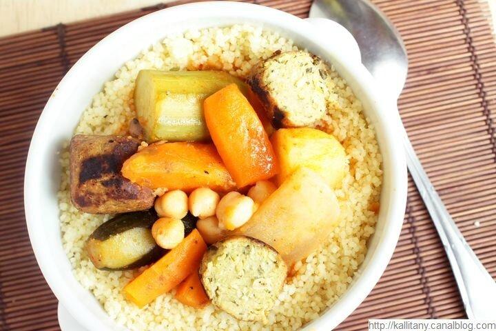 Blog culinaire Kallitany - recette couscous végétarien (15)