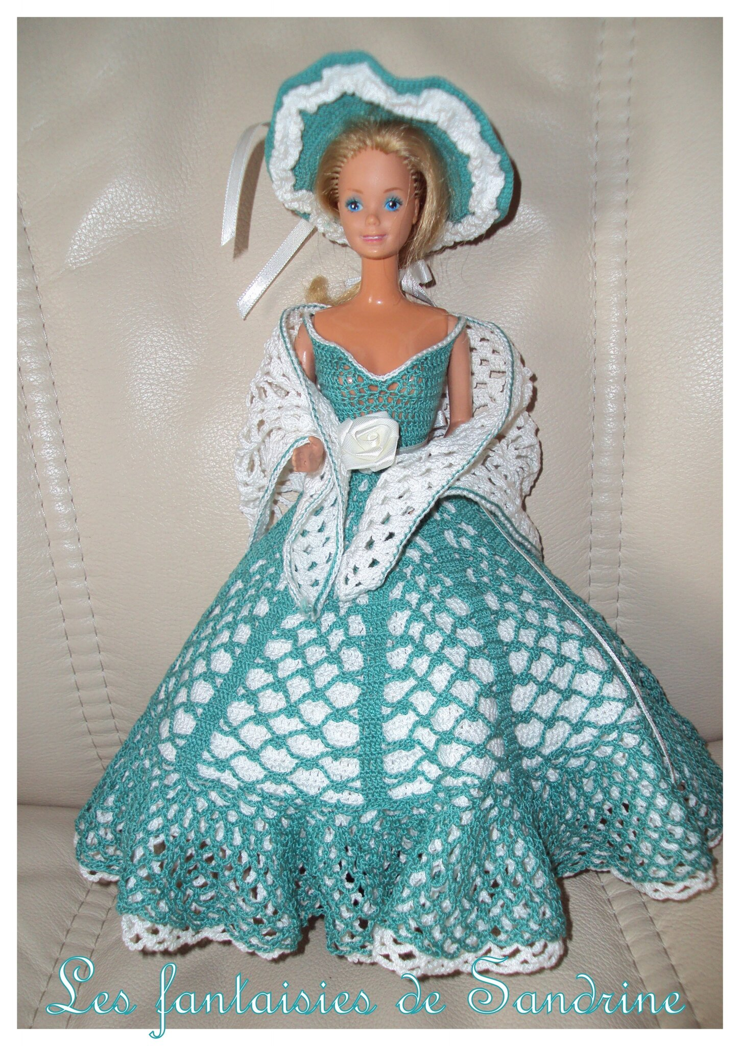 robe poupée barbie