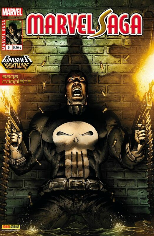 marvel saga V2 05 punisher nightmare