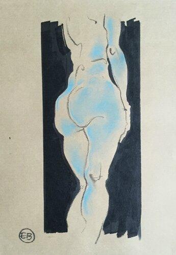 #croquisdenu modele vivant living model Etienne Bonnet Croquis nu dessin peinture Golden Blog Awards nude drawing sketch D IMG_1236