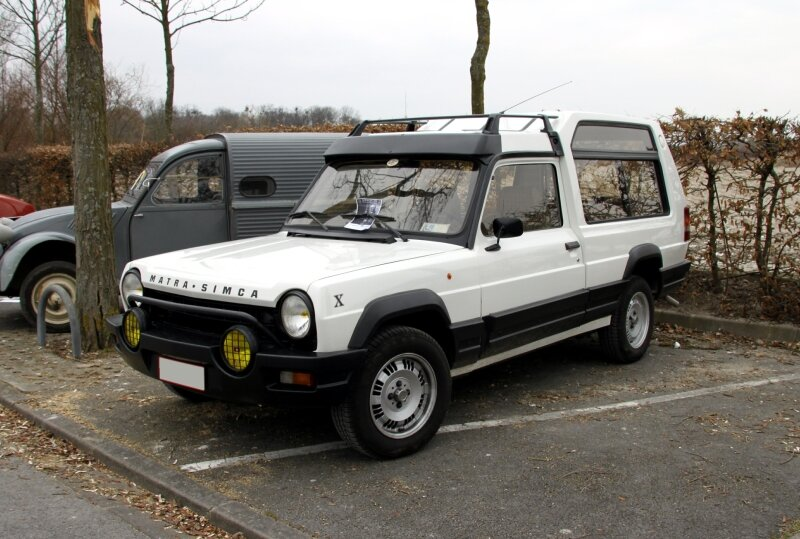 Matra Simca rancho X (23ème Salon Champenois du véhicule de collection)