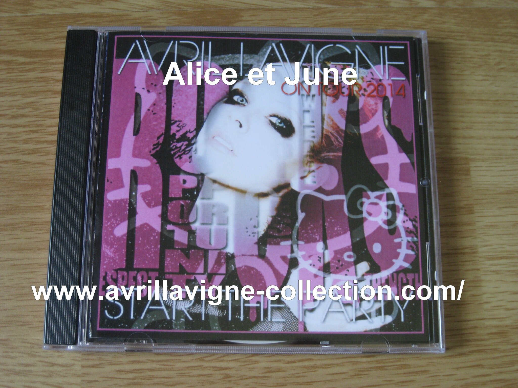 CD Avril Lavigne On Tour 2014 Start The Party-Japon (2014)