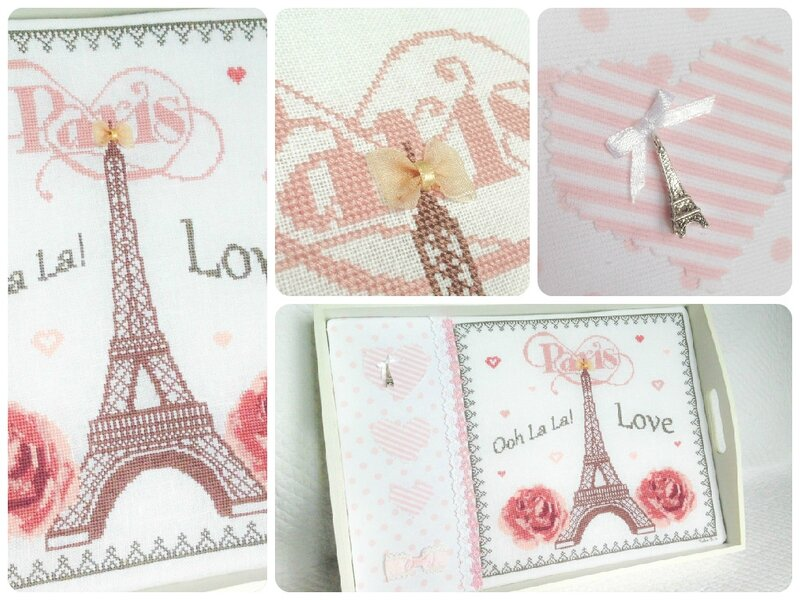 i love paris collage