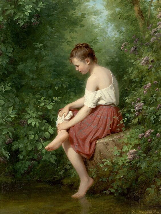 fritz_zuber_buhler_b1299_young_girl_by_the_lake_wm