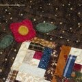 Quilt miniature en log cabin, ii