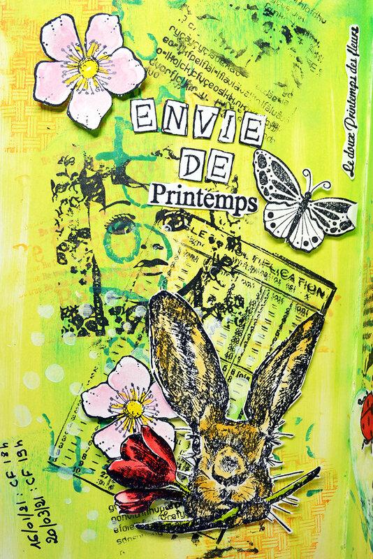 blogorel album de confinement envie printemps 2 loreeduscrap