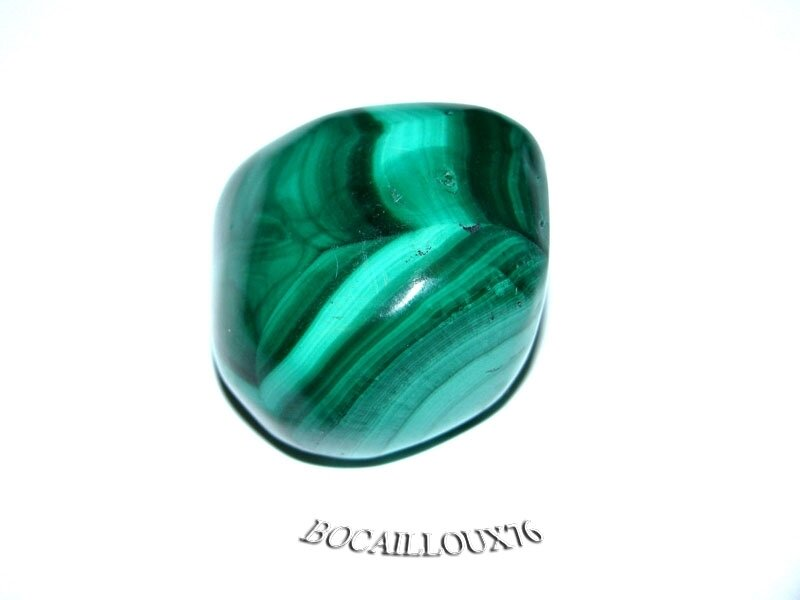 MALACHITE 6 Roulée - Pour CREATION - LITHOTHERAPIE