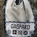 Bavoir Gaspard.