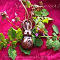 Earth Goddess pendant with ash leaves 1