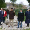Jornada de formación- paseo en el jardín de los jesuitas en