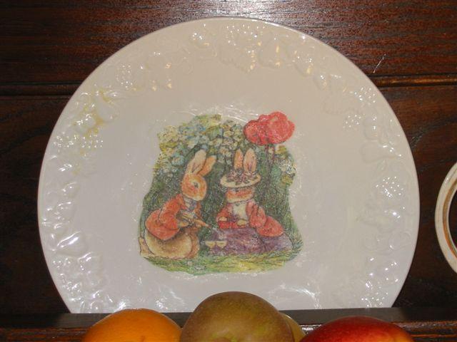 assiette beatrice potter