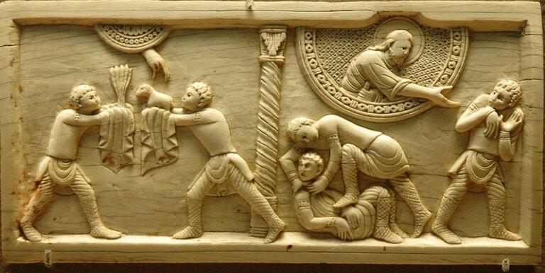 Caïn et Abel, Louvre