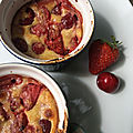 Gratin de fruits rouges à l'amaretto