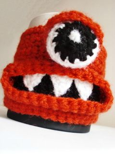 alien orange (mug cosy)
