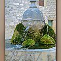 fontaine de l'église